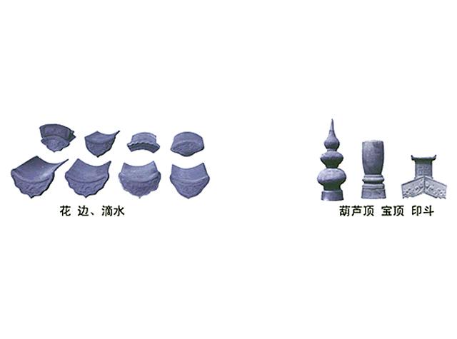 上海青灰砖瓦